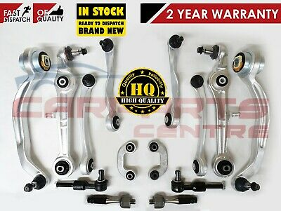 AUDI A6 ALLROAD 4BH C5 FRONT SUSPENSION WISHBONES CONTROL ARMS KIT BOLTS 16 21mm