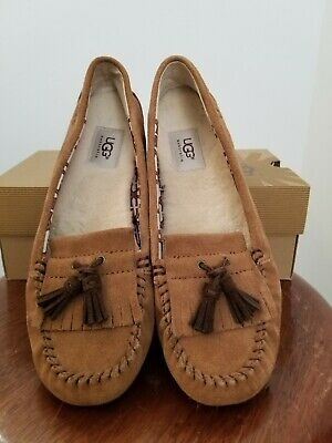 383a732a073 UGG WOMENS LIZZY Moccasins in Granite 6 US. -  30.74