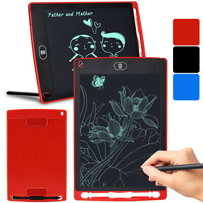 Graphic Tablet Board Pad Drawing Electronic LCD Writing Notepad Colorful Digital