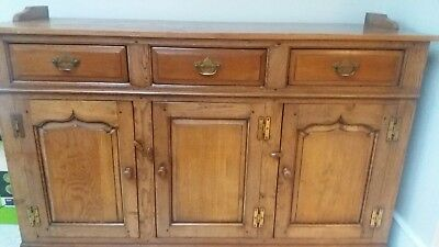 Hand built Welsh dresser by Thomas Titchmarsh of Suffolk in antique oak