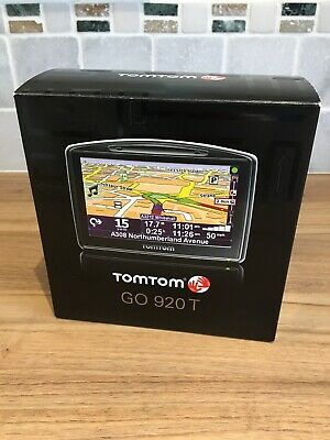 Tomtom Go 920T Uk Europe USA Canada Used Boxed Complete