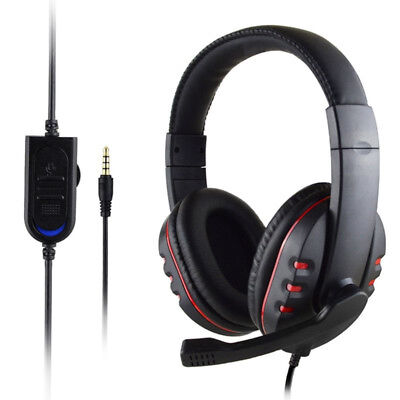 Cuffie per PS3 PS4 Xbox One 360 3.5mm Gaming Headset W/Mic Mode Durevole