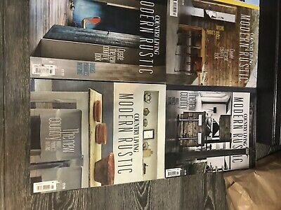 "Country Living ""Modern Rustic"" Magazines 1-12 Set Rare Excellent Condition"
