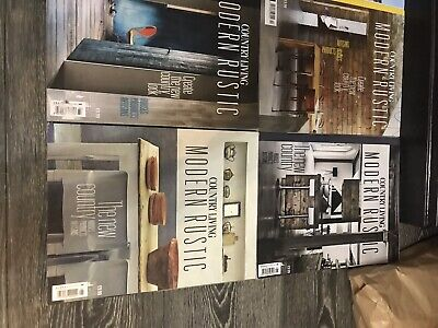 "Country Living ""Modern Rustic"" Magazines 1-14 Set Rare Excellent Condition"