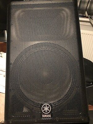 YAMAHA DXR15 - 2 Way Active Loudspeaker - PA Speaker - 1100W - Single  Speaker