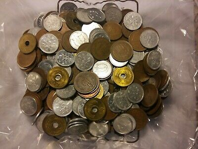 lotto monete japan giappone - lot of coins monnaies