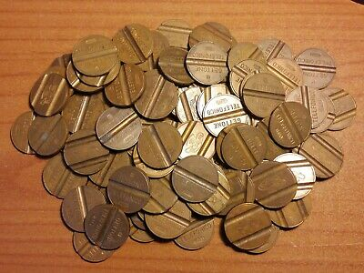lotto gettoni telefonici - lot of coins monnaies
