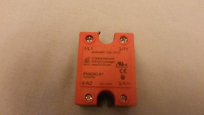 Solid State Relay Ph 9260.91 Ac 24 - 240V Ac 50A -, 50 A, 240 Vac, Zero Crossing
