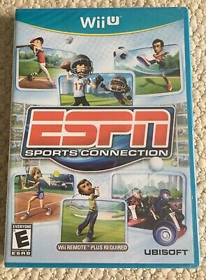 Nintendo Wii U ESPN Sports Connection NEW + Factory Sealed, Retired