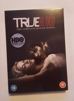 BRAND NEW true blood dvd complete second season - sealed packaging