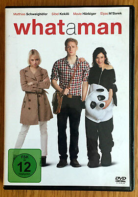 DVD - What A Man