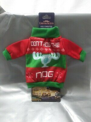National Lampoon's Christmas Vacation Don't Hog the Nog Bottle Cover Koozie Blue