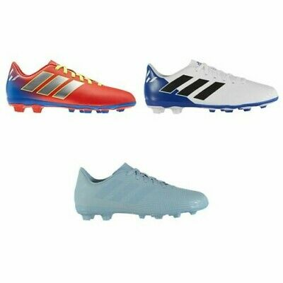 new styles 8bf78 2140d adidas Nemeziz Messi 18.4 FG Firm Ground Football Boots Juniors Soccer  Cleats