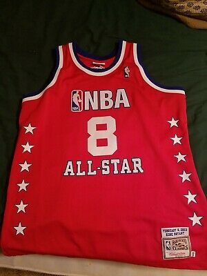 d52022837 Authentic Kobe Bryant Mitchell Ness 2003 All Star Jersey Size 48 S XL Mens