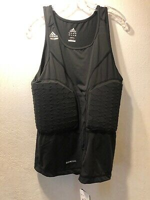 ADIDAS TECHFIT CLIMA365 Padded Compression System Black Mens