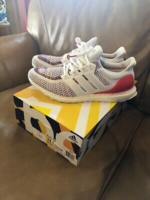 6754efdfe7e NEW ADIDAS ULTRA Boost 2.0 Multicolor White Red BB3911 US Mens Size ...