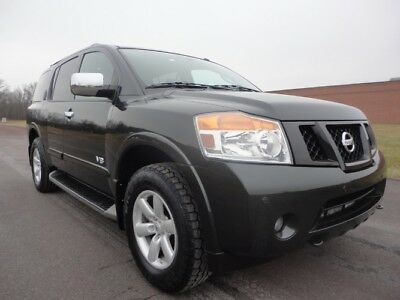 2009 Nissan Armada SE 2009 NISSAN ARMADA SE 4X4 V8 BACK UP CAM SEATING FOR 7 LOW MILES CLEAN CARFAX