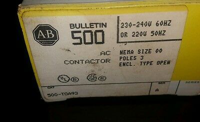 Allen-Bradley Lighting Contactor 500L-TOA93 500L-TOA93 Series A 220/230/240 50HZ