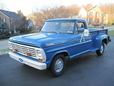 1967 Ford F-100 Base 1967 Ford F-100 Flareside-Only 12,870 Original Miles-Original Family Owners-WOW!