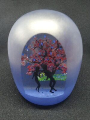 "ALISON RUZSA PAPERWEIGHT. ""Dancing in the Rain"". One-off."