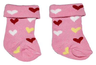 Our Generation American Girl Dolls Journey Girl 18 Doll Clothes Pink Heart Socks