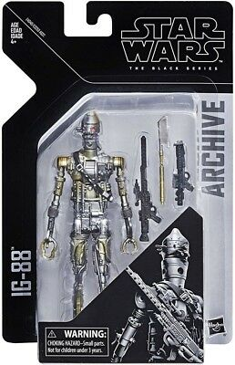 """Star Wars The Black Series IG-88 Archive Wave 1 6"""" Action Figure *IN STOCK NIB"""