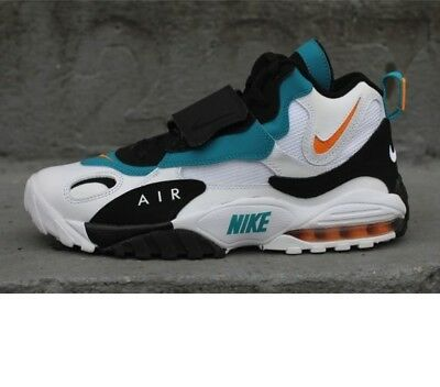 c2a095d2d35b AUTHENTIC NIKE Air Max Speed Turf 525225 100 Dolphins Dan Marino Teal men  size