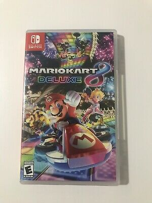 Nintendo Switch Mario Kart 8 Deluxe Game - USED ONCE