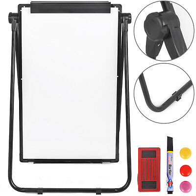 Telescopic Double Sided Magnetic Whiteboard Teaching Office Free Eraser