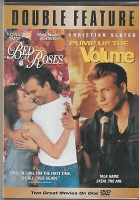 Bed of Roses & Pump Up the Volume Christian Slater Mary Stuart Masterson DVD