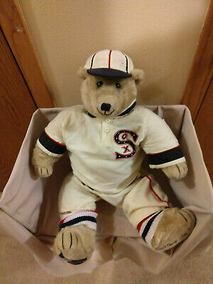 3ec082799ba Chicago White Sox Teddy Bear Cooperstown Collection World Series Collectible