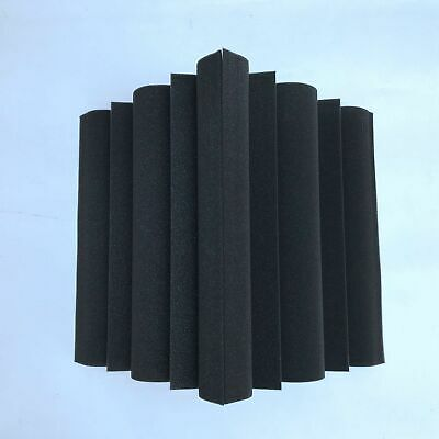 4 pcs Wedge Acoustic Foam Studio Sound Absorption Panel Bass Trap Wall Proofing