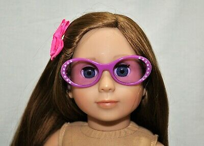 American Girl Doll Our Generation Journey 18 Dolls Clothes Purple Sun Glasses