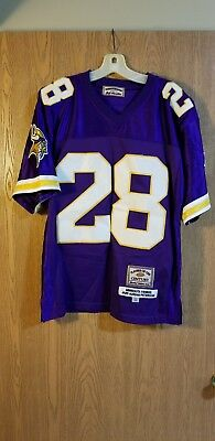 Adrian Peterson Minnesota Vikings LE 2005 Players of the Century Jersey Sz 48