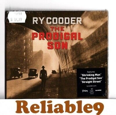 Ry Cooder - The prodigal son CD Digipak Sealed- 2018 Universal Made in Australia