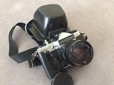 Camera 35 mm vintage Zenit includes original case