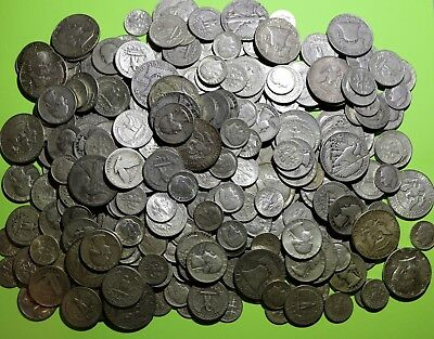 Huge Collection 1/2 Troy Oz  All 90% Silver, No Nickels-Good Coins-Great Junk
