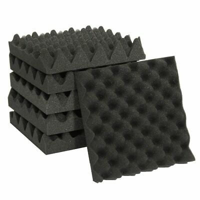 Egg Crate Wedge Sound Absorption Foam Panels Studio Acoustic Soundproofing Tiles