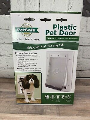 Petsafe Freedom Plastic Pet Dog Door Small 1-15lb | Brand New | Never Been Used