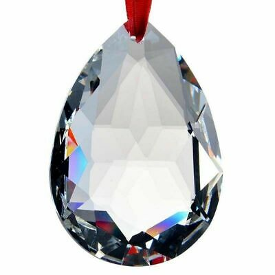 50mm Clear Crystal Pendant Suncatcher Chandelier Lamp Part Prism Drop Hanging