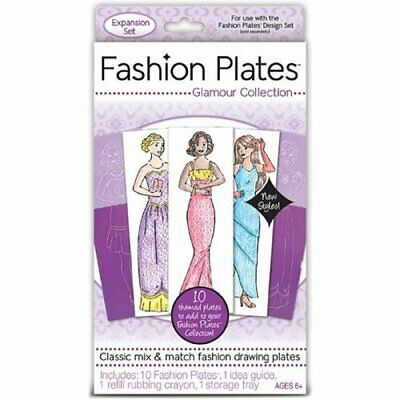 Fashion Plates Glamour Collection Educational Toys Books
