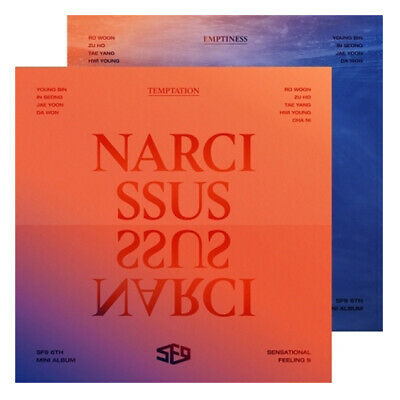 SF9 NARCISSUS 6TH MINI ALBUM VERSION SELECT CD + Folded Poster