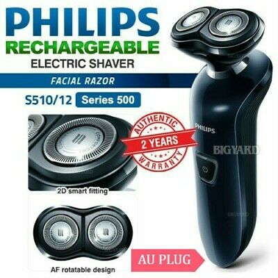 PHILIPS Series 500 Rechargeable Electric Shaver Cordless Beard Trimmer S510/12