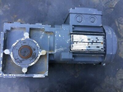 SEW Eurodrive 0.18kw 3 phase electric motor WAF30 DR63M4