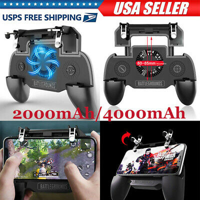 PUBG Joystick Controller Gamepad w/ Fan for Android iOS Mobile Cell Phone Game