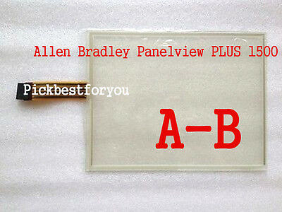 "Allen Bradley Panelview 1500 2711P-T15C4D2 2711P-RP2 Touch Screen 15""  #HD32 YD"