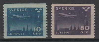 Sweden 1930 Air mail at night, cpl. set, MNH