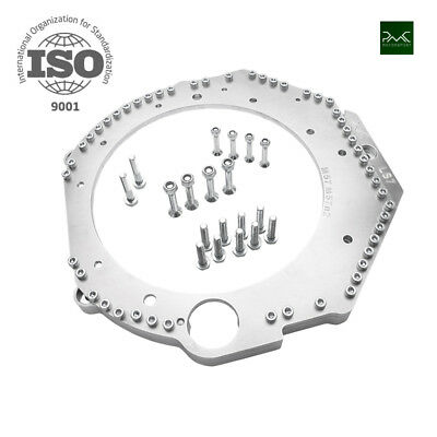 CHEVROLET LS7 LS3 LS1 ENGINE ADAPTER PLATE TO BMW M57n GEARBOX TUNING PMC SWAP