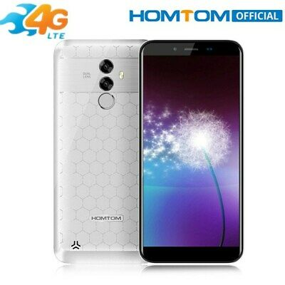 """HOMTOM S99 Smartphone 5.5"""" 18:9 6200mAh 64GO MTK6750 OctaCore Face ID Android8.0"""
