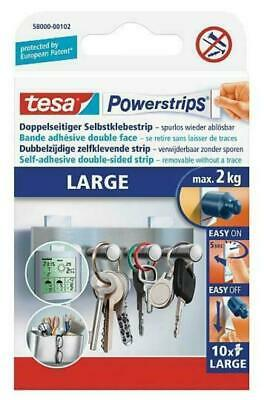 1 Pack tesa Powerstrips 58000 large max. 2kg, 10 Stripes